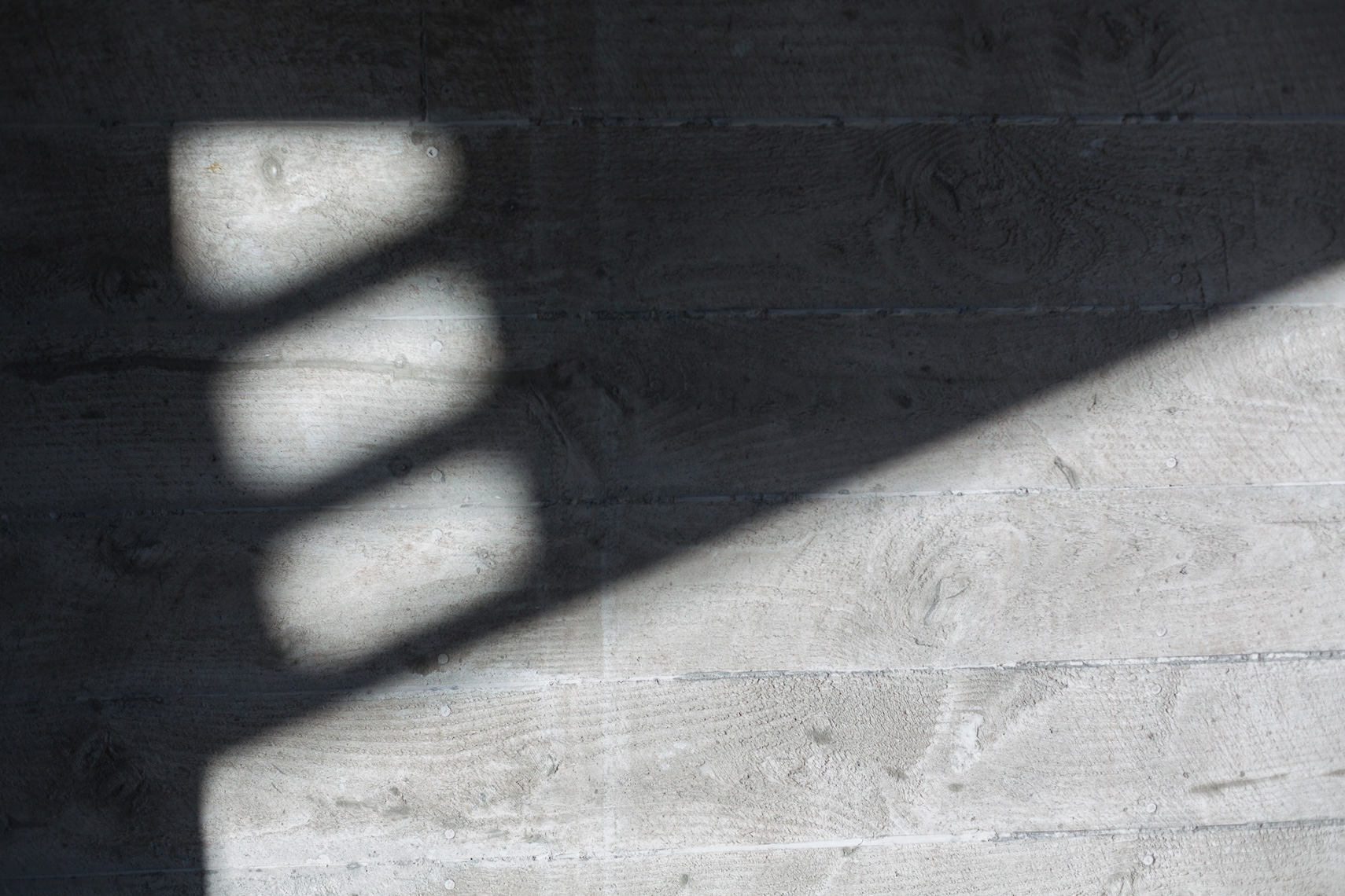 Architectural Shadows on concrete by Paul Green Photographer